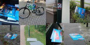 Bernau: AfD zeigt sich besorgt über abgerissene Plakate